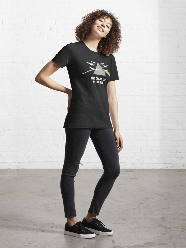 Alternate view of Model 74 - The Great Gig In The Sky Essential T-Shirt