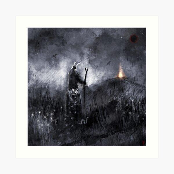 Tréowaþ - Trusting In The Path Before Us Art Print