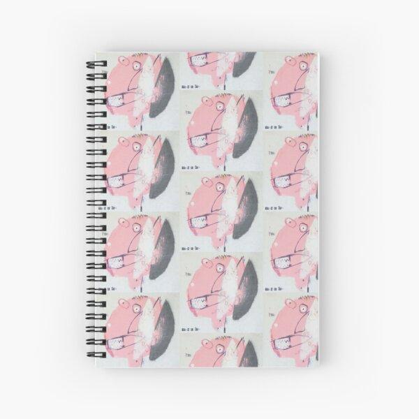 """Pie Face"" HEADS series Spiral Notebook"