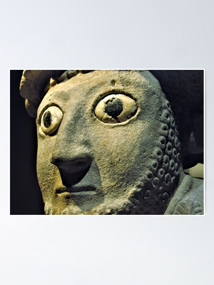 Alternate view of Face of Šuppiluliuma I Poster