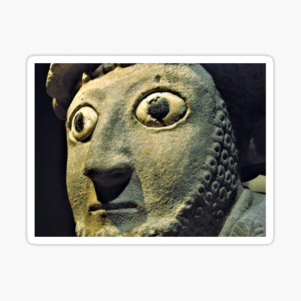 Face of Šuppiluliuma I Sticker