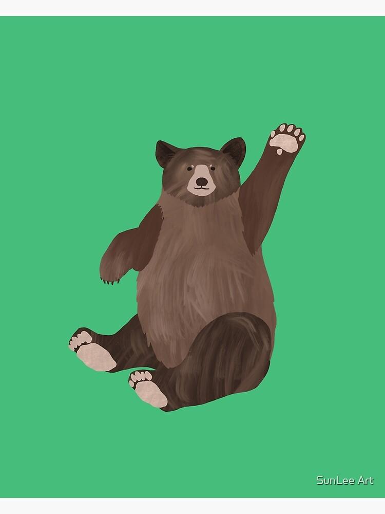 Hello Bear by sunleeart