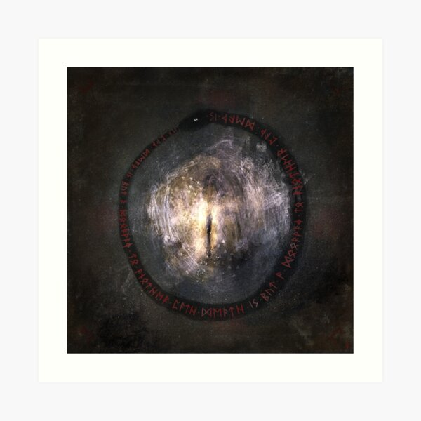 Férnes - (Transition) Death is but a doorway to another path Art Print
