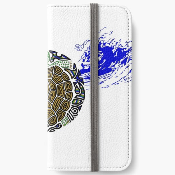 Turtle Waives  iPhone Wallet