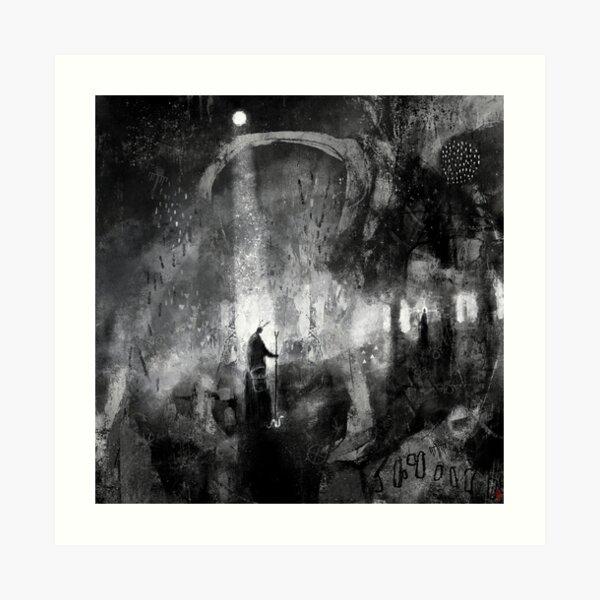 Mōnan Weg - The Moon Path Art Print