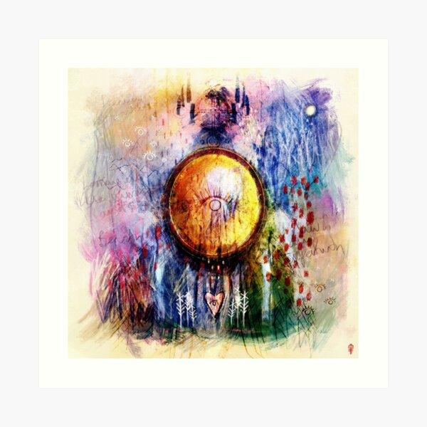 Sunscín - Mirrors Art Print