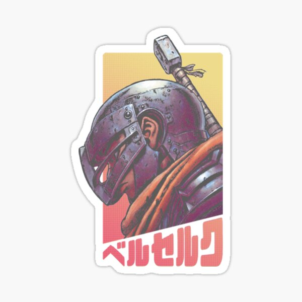Guts 02 Berserk - Sticker