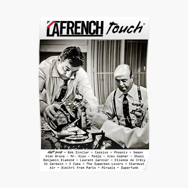Les Tontons Daft : MODELE de La French Touch & Daft Punk Poster
