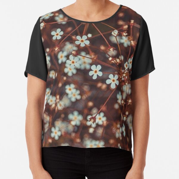 magical flowers Chiffon Top