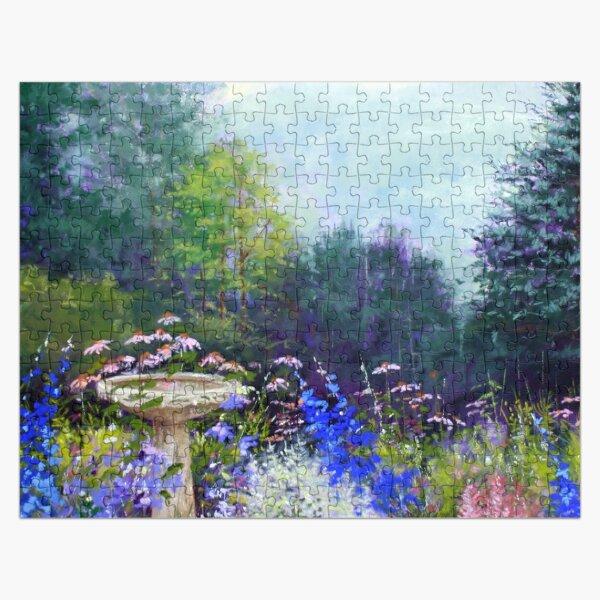 Summer Garden in Vermont Jigsaw Puzzle Jigsaw Puzzle