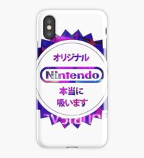 Vaporwave Nintendo iPhone Case/Skin