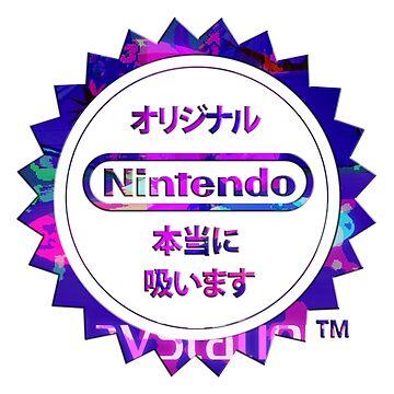 Vaporwave Nintendo by DaftDesigns