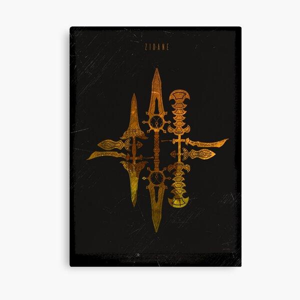 Zidane - Thief Swords Canvas Print