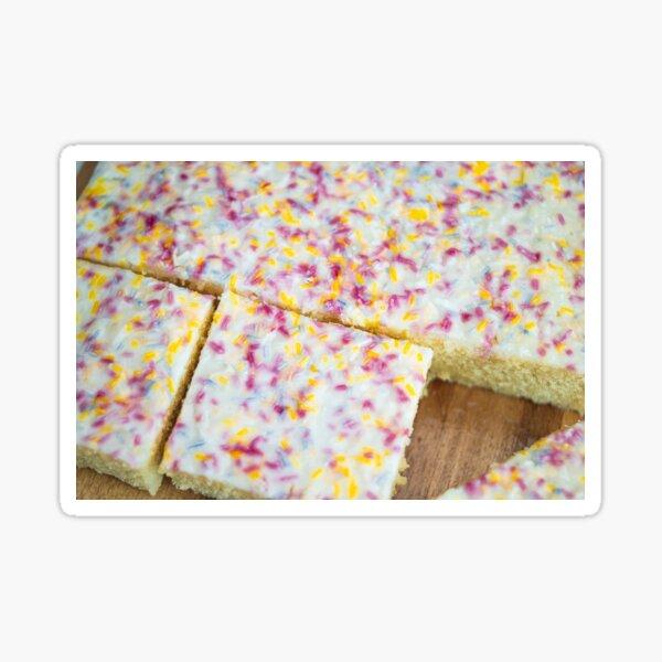 Vanilla Sprinkle Cake Sticker