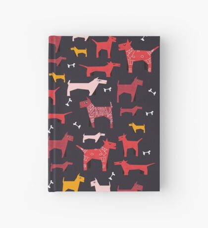 Dogs Funny Hardcover Journal