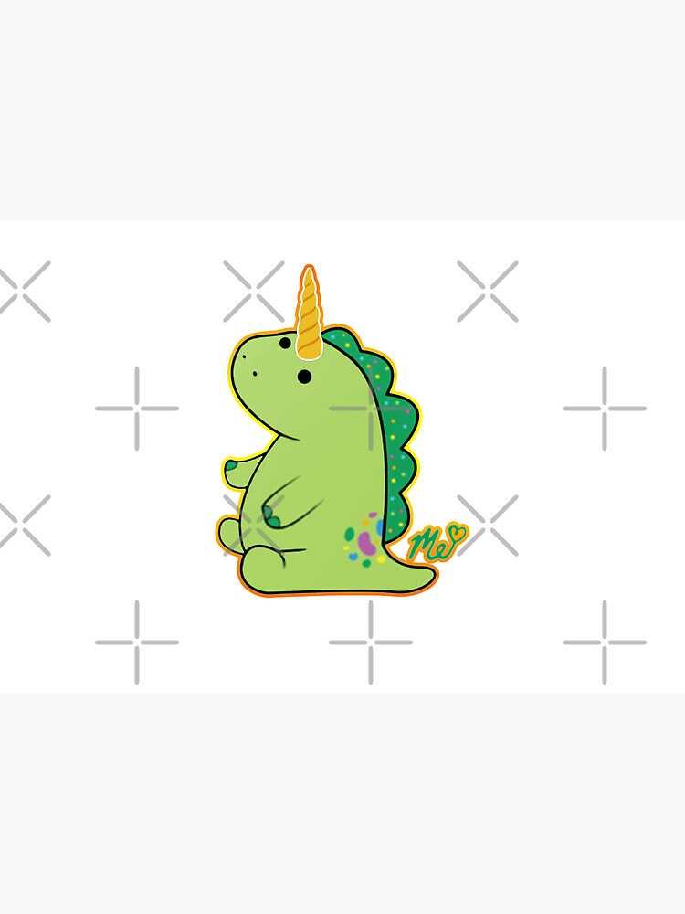 Moriah Elizabeth Pickle the Unicorn dinosaur by franktact