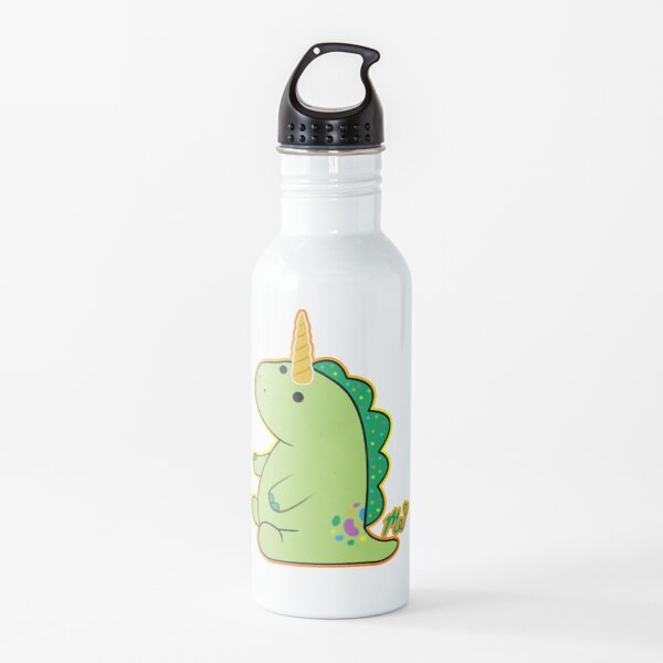 Moriah Elizabeth Pickle the Unicorn dinosaur Water Bottle