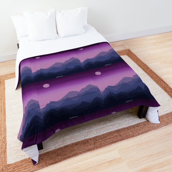 Purple Mountains  Comforter
