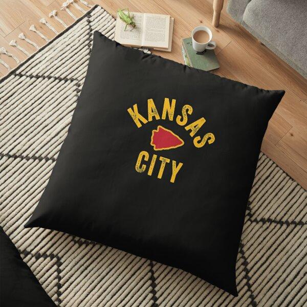 KC Kansas City Red Arrowhead Cool Ultimate Kc Fan Kingdom Sweatshirt Floor Pillow