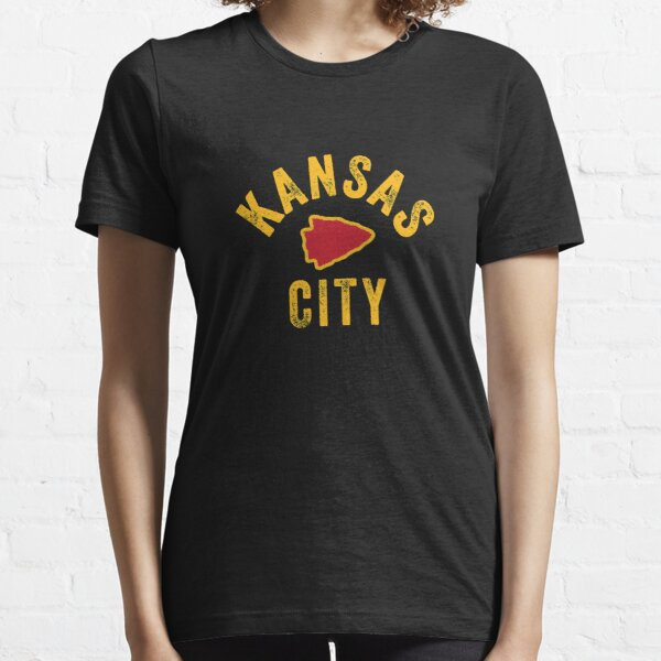 KC Kansas City Red Arrowhead Cool Ultimate Kc Fan Kingdom Sweatshirt Essential T-Shirt