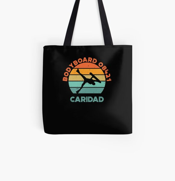 Bodyboard 08421, caridad, philippines vintage All Over Print Tote Bag