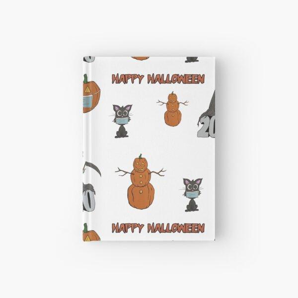 Halloween 2020 Pattern Hardcover Journal