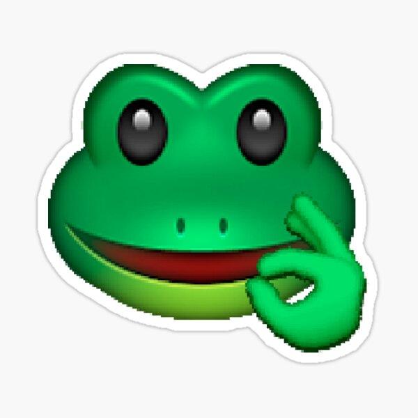 emoji pepe Pegatina