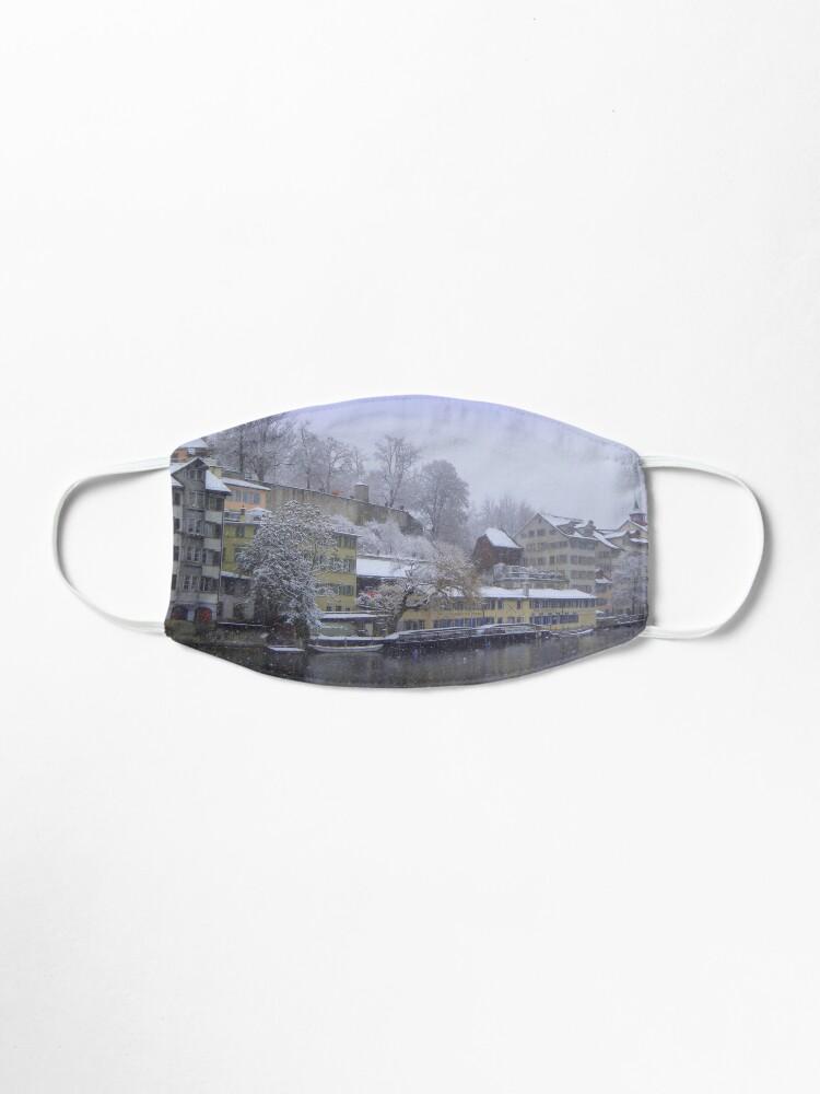 Alternate view of Snowy Zurich Mask