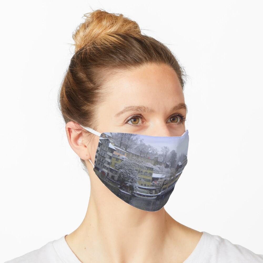 Snowy Zurich Mask