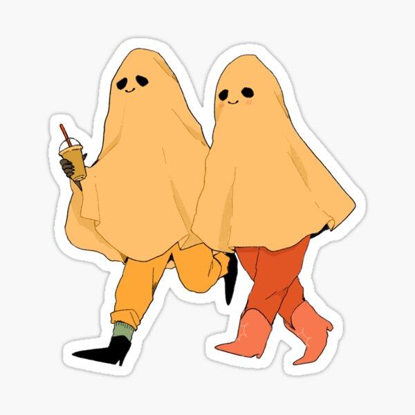 Ghost date! Sticker