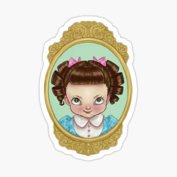 Melanie Cry Baby girl Sticker