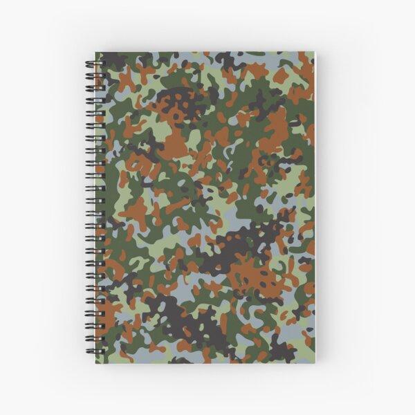 Camouflage Belgian Flecktarn  Spiral Notebook