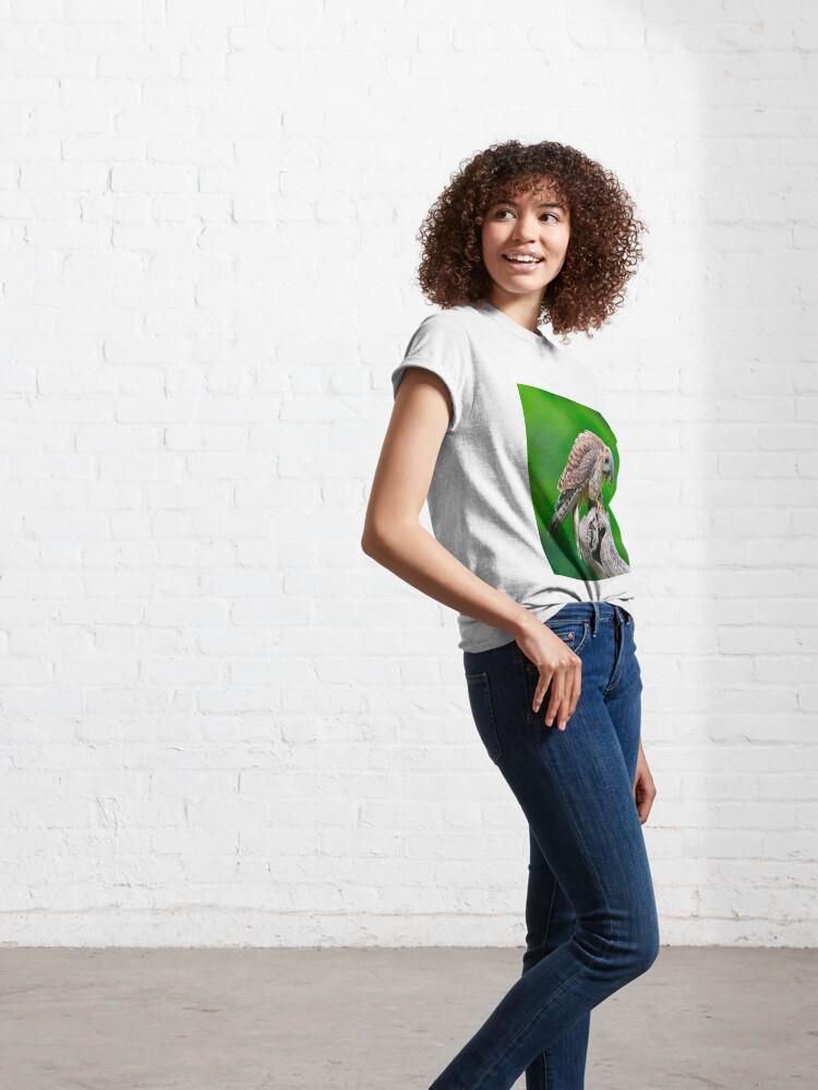 Alternate view of American Kestrel Classic T-Shirt