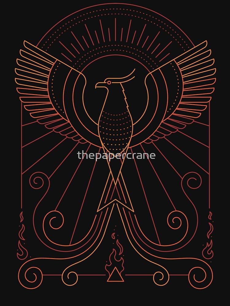 Bird Of Fire by thepapercrane