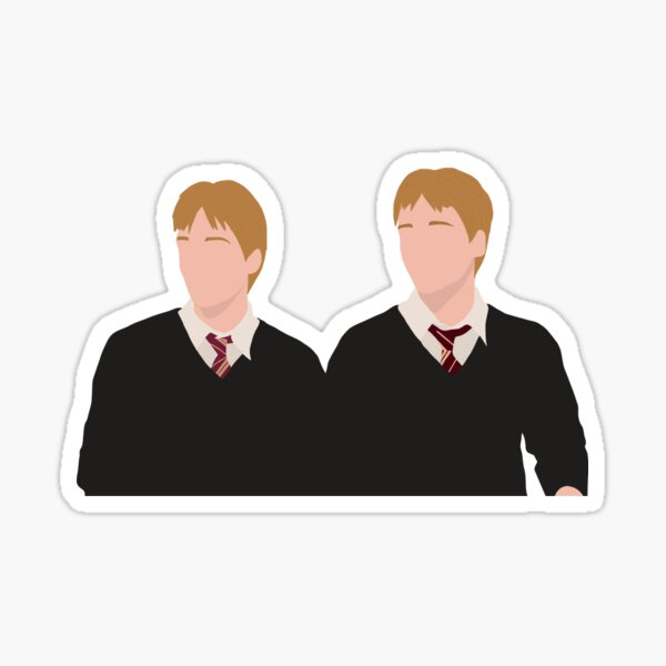 Fred and George Weasley Sticker