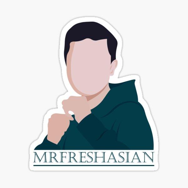 Mrfreshasian gamer youtuber fresh design Sticker