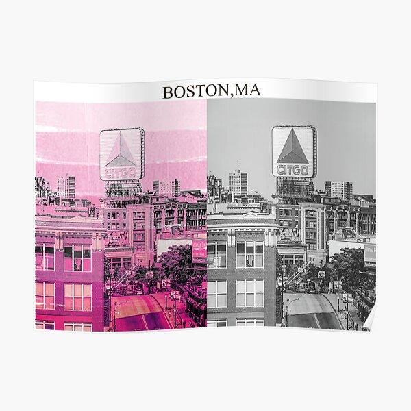 2x Boston Art Poster