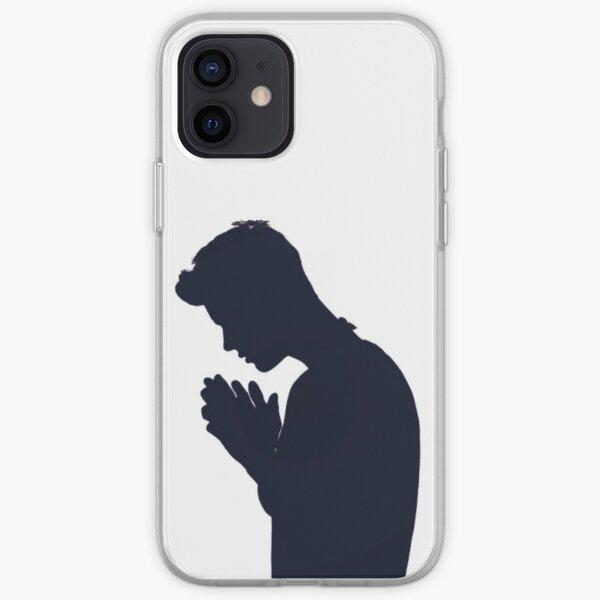 Justin Bieber silhouette Funda blanda para iPhone