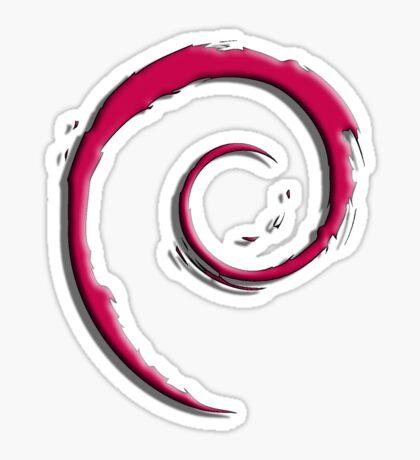 Debian Logo Sticker
