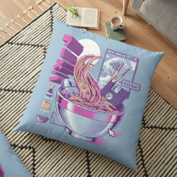 Web Ramen Floor Pillow