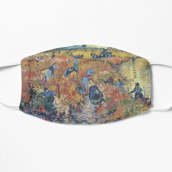 The Red Vineyards at Arles - Van Gogh Flat Mask