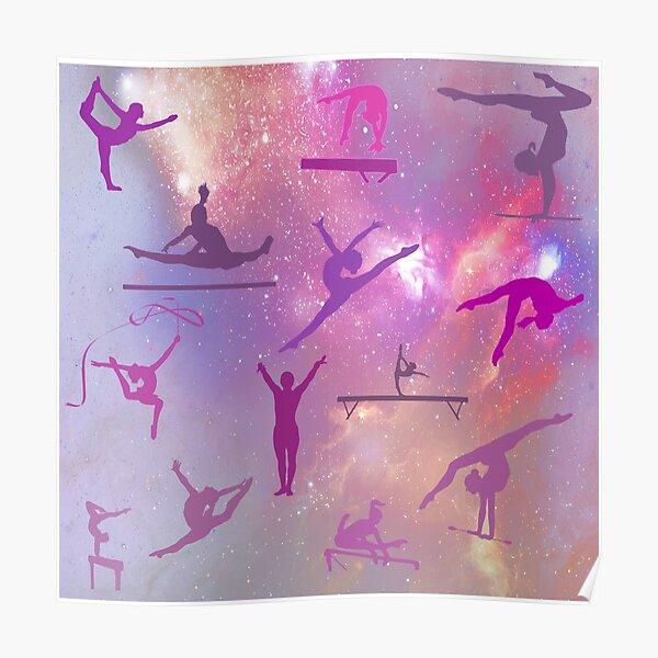 Gymnastics Stars Poster