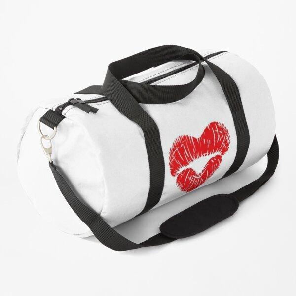 State Of Slay™ - Heart Lips Duffle Bag