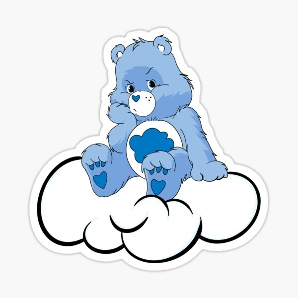 Grumpy Care Bear Sticker