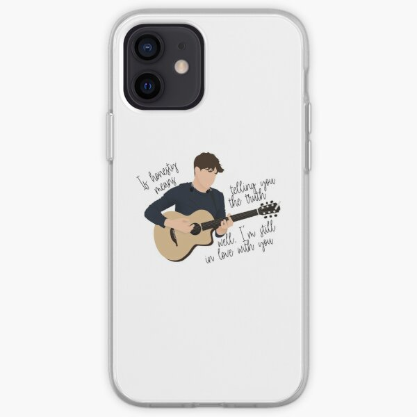 Niall Horan todavía Funda blanda para iPhone