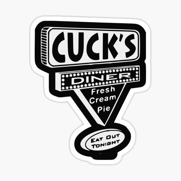 Cuckold Diner Sticker