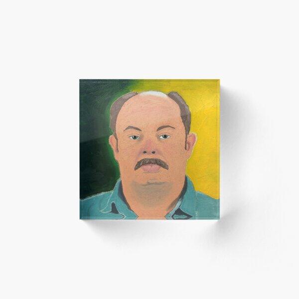 Sit on You Guy - Oil on Canvas - YouTube Art Acrylic Block