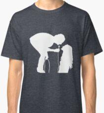 Robbers Silhouette (white) Classic T-Shirt