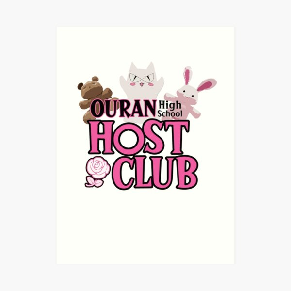 Ouran Highschool Host Club  Art Print