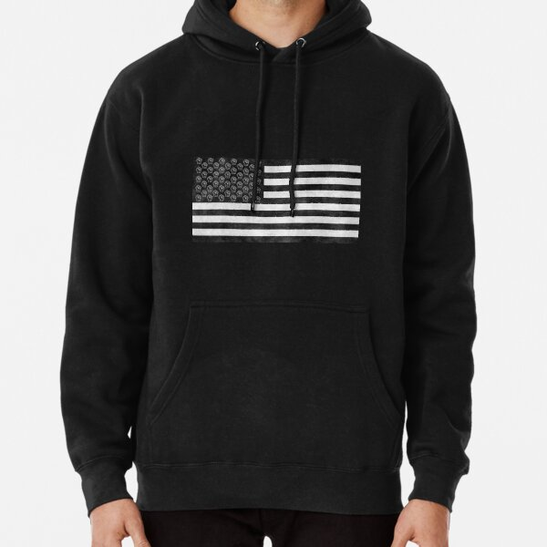 Black Lives Matter Natinoal Flag Pullover Hoodie